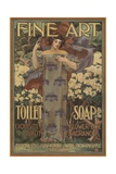 Fine Art Toilet Soap Illustration