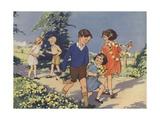 Dandelions Book Illustration