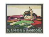By LNER to the Moors Poster
