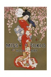 Miss Tokio Hosiery Illustration