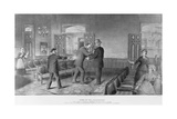 Scene of the Assassination of General James A Garfield  President of the United States