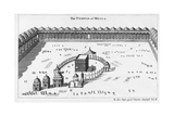 Engraving of the Temple of Mecca