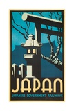Japan Japanese Government Railways Poster