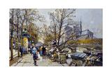 The Rive Gauche  Paris with Notre Dame Beyond