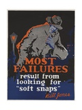 Most Failures Motivational Poster