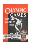 Olympic Games Los Angeles 1932 Poster