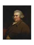 Portrait of Erasmus Darwin  Half Length  in a Buff Coat and White Shirt