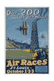 Over 200 Miles Per Hour  1923 St Louis Air Races