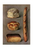 Illustration of Four Kinds of Bread