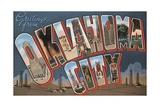 Greetings from Oklahoma City Postcard