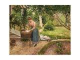 Washerwoman at Eragny