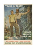 Yours in Trust Poster