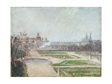 The Tuileries Gardens and the Louvre