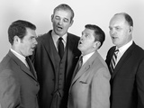 1960s Quartet of Four Businessmen Salesmen Singing Harmony Together