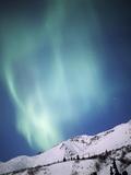 Aurora Borealis  Chugach State Park  Anchorage  Alaska