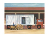 Illustration of Freight Truck