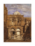 Entrance to the Church of the Holy Sepulchre  Jerusalem