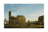 The Colosseum and the Arch of Constantine
