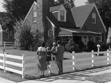 1950s Family Standing
