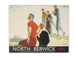 North Berwick Poster Giclée par Andrew Johnson