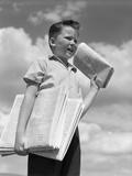 1930s Newspaper Boy