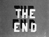 1930s the End Retro Movie Title