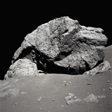 Large Rock on the Moon