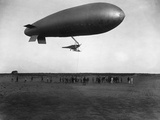 Naval Airship in Dardanelles  World War I
