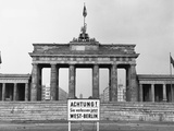 Brandenburg Gate  Berlin  1966