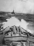 HMS Audacious in a Storm