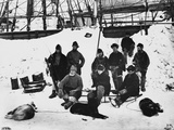 Captain Nares and Crew on Polar Expedition