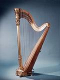 Golden Free Standing Harp
