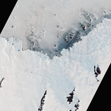 Ice Varieties Along Antarctic's Mawson Coast