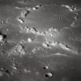 Craters on the Surface of the Moon