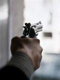 1970s Hand Aiming Gun Revolver