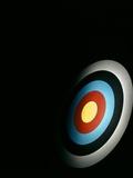 Target Archery Bullseye Dartboard Retro
