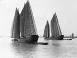 Junks on the Yangtze River