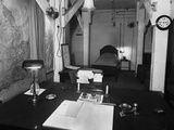 Room in British War Cabinet's Underground Headquarters