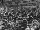 Morris Motors Automobiles in Production
