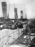 Turbine Engines of Rms Aquitania are Fitted