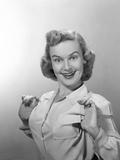 1950s Portrait of Proud Woman