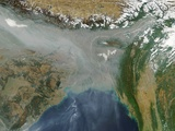 Haze and Smog over Bangladesh and Northern India