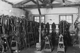 Riding Equipment at the Levaller's Depot of the Jeaux Brothers
