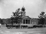 Damaged Town Hall During Boer War