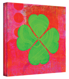 Shamrock gallery-wrapped canvas