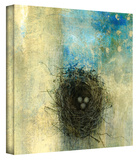 Bird Nest Gallery-Wrapped Canvas