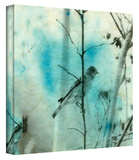 Asian Bird Gallery-Wrapped Canvas