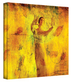 Visualize and Manifest gallery-wrapped canvas