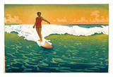 The Duke Kahanamoku Surfing  Hawaii 1918