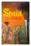 Spain Fly TWA - Trans World Airlines - Matadores (Matadors)